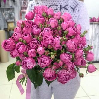 15 пионовидных кустовых роз
